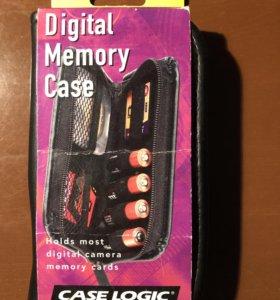 Кейс для батареек и карт памяти (новый)