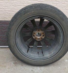 Продам колеса с литьем
