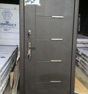 Входная металлическая дверь А35
