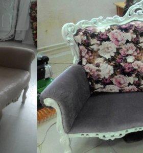 реставрация , перетяжка мебели
