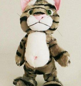 Кот повторюшка мягая игрушка