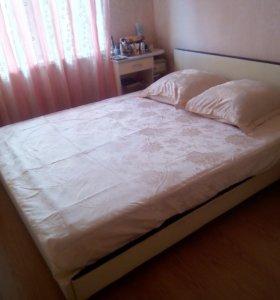 Кровать+матрас Оrmatek( и ортопедическое основание