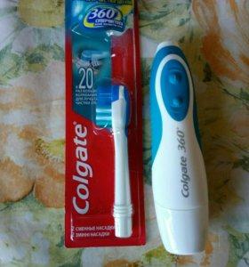 Продается электрическая зубная щетка Colgate 360