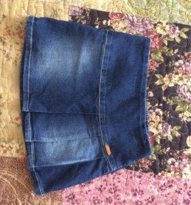 Юбка джинсовая 92-98 размер