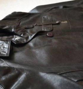 Кожаный плащ Dolce Gabbana