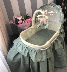 Детская люлька кроватка