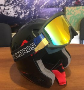 Листайте детский шлем и маска Сноуборд Лыжи
