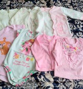 Одежда на девочку 62 - 68 размер
