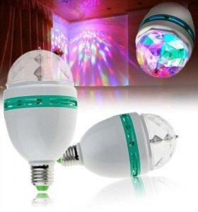 Лампа LED RGB, вращ. Огонёк