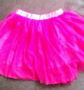 Яркая юбка для девочки. Новая