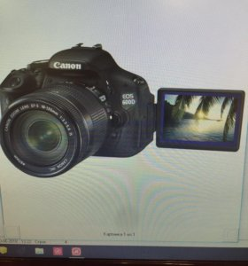 Canon EOS600D+EFS181135IS kit