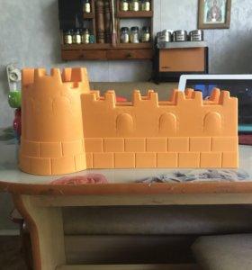 Замок формочка для песочницы