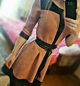 платье новое, замшевое🌸
