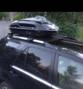 Авто бокс транспортный 300 L Black Швеция