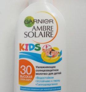 Солнцезащитный крем детский новый
