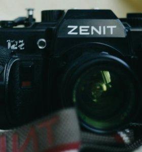 Зенит-122 с объективом Мир 1В