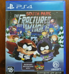 South park: The Fractured but whole игра для Ps4