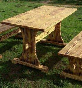 Мебель с эффектом старения