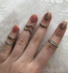 Кольца набор на фаланги