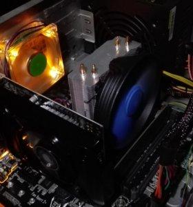 Игровой компьютер, на гарантии.