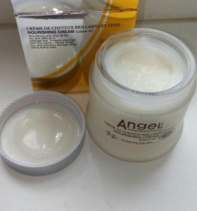 Несмываемый крем для волос Angel professional