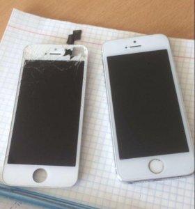 Экран на Айфон 5s