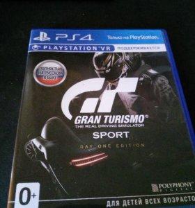 Игра PS4 Gran Turismo Sport