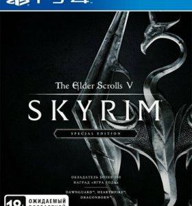 Игра на PS 4 Skyrim