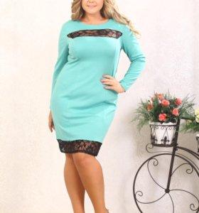 Новое платье размера 60-62