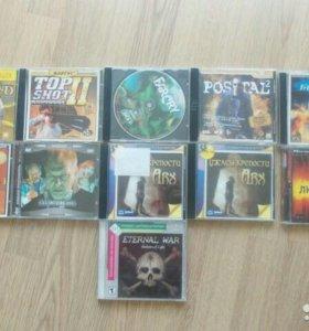 Диски с играми на PC CD-ROM
