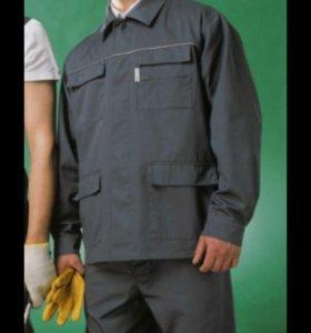 Рабочий костюм куртка с брюками 52-54 рост 182-188