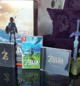 The legend of Zelda коллекционка