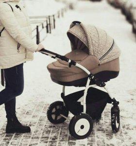 Детская коляска 2в1 indigo slaro