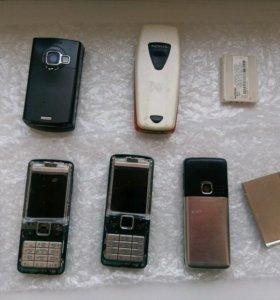 Nokia 6300 3шт., 3510i, n80