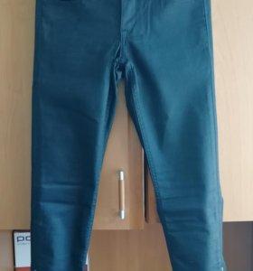 Джинсы новые skinny из эластичного денима H&M 27 р