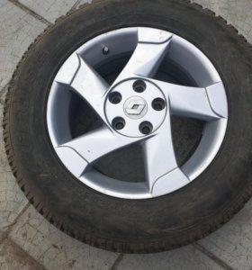 Комплект колёс от Рено Дастер