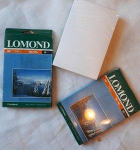 Фотобумага Lomond 10х15см матовая 180г/м