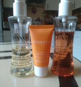 PAYOT масло, гель для умывания и маска для лица