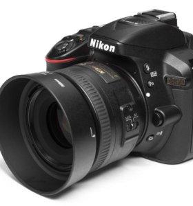 Nikon D5300 35mm f/1.8 на гарантии