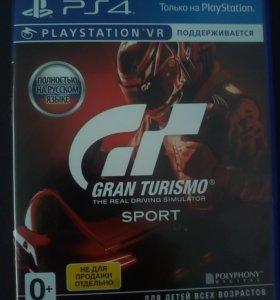 Gran Turismo Sport игра ps4