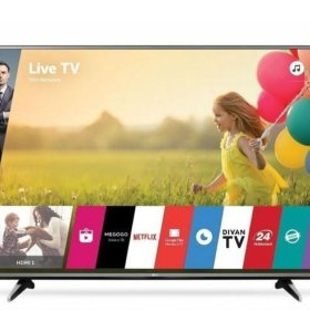 """Телевизор 55"""" (140 см) 4К LED LG 55UH605V"""