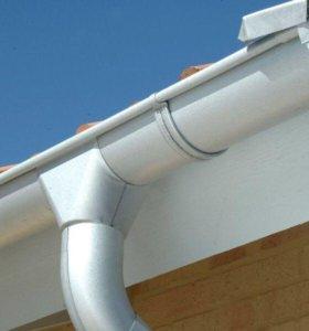 Продам отливы для крыши белого цвета
