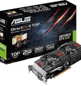 Asus GeForce GTX 660 2 Гб gddr5