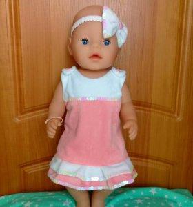 Комплектик на куклу беби бон