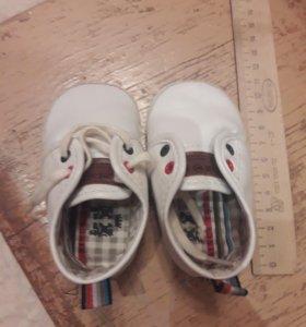 Детские ботиночки для малыша
