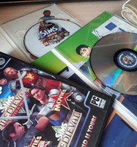 Диски Sims 3