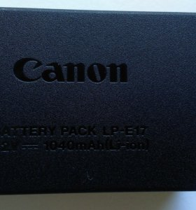 """Аккумулятор на фотоаппарат Canon """"LP-E17"""""""