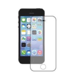 Защитное стекло для iPhone SE/5S/5С/5
