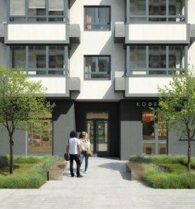 Квартира, 3 комнаты, 76.1 м²