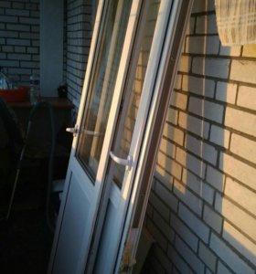 Балконные двери и окна.